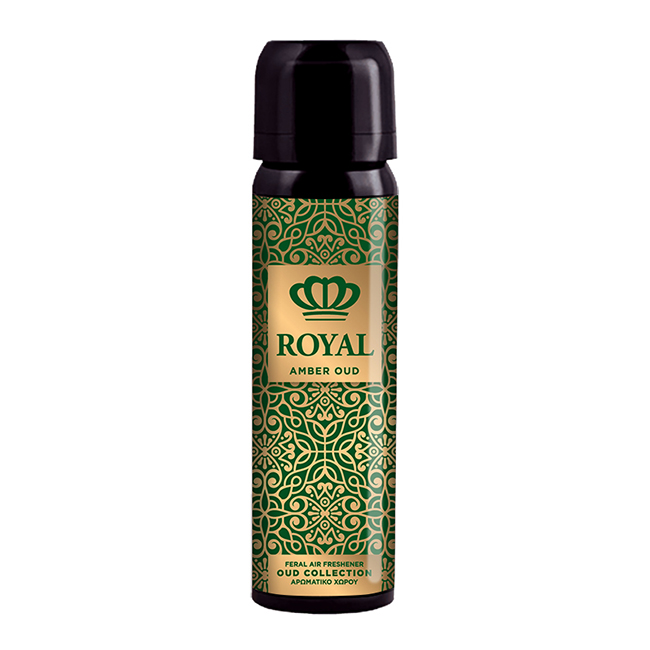 Royal Collection Spray Air-Freshener Amber Oud